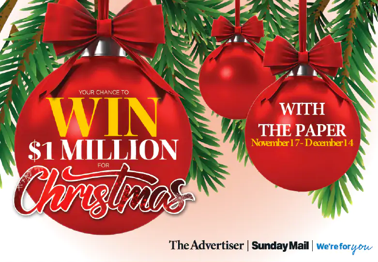 Mail On Christmas Eve 2019.The Advertiser And Sunday Mail Give Readers The Chance To
